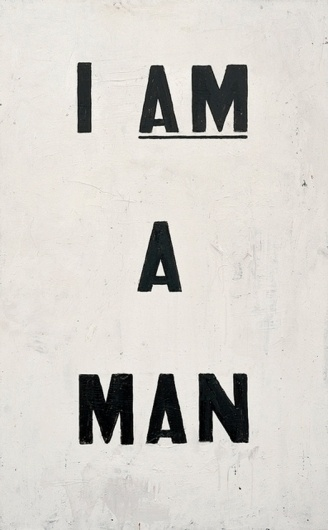 Accidental Mysteries, 07.24.11: A Weekly Gallery of Images: Observatory: Design Observer #white #black #and #type #man
