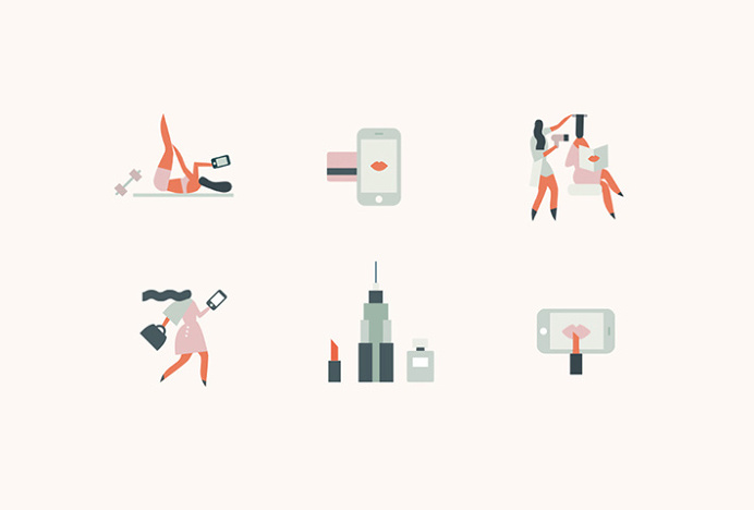Beautified by Lotta Nieminem #icons #ilustrations