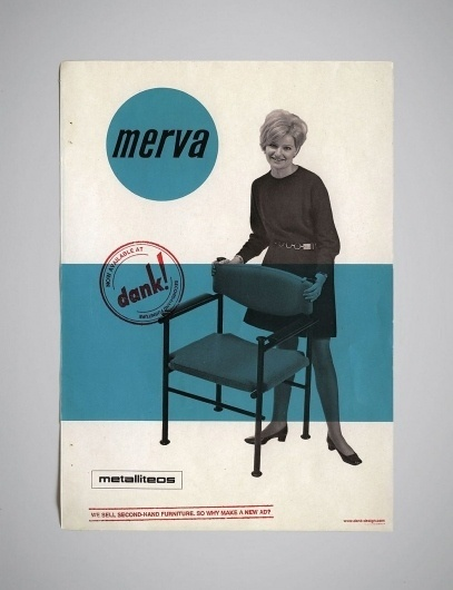 We sell second-hand furniture, so why make a new ad? | BLDG//WLF #vintage #advertisements