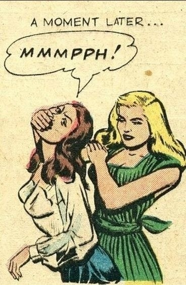 sloth unleashed #comic #women #illustration #pulp #vintage #attack