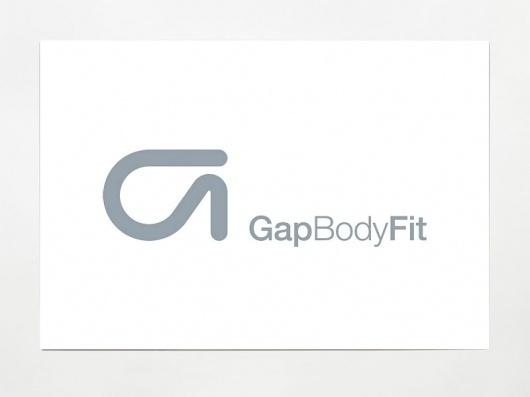 Manual - Gap Body Fit #logo #brand #design #identity