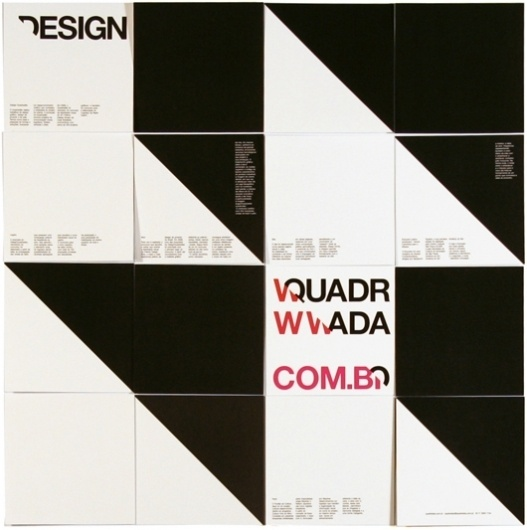 quadradão #grid #quadradao #geometric #poster