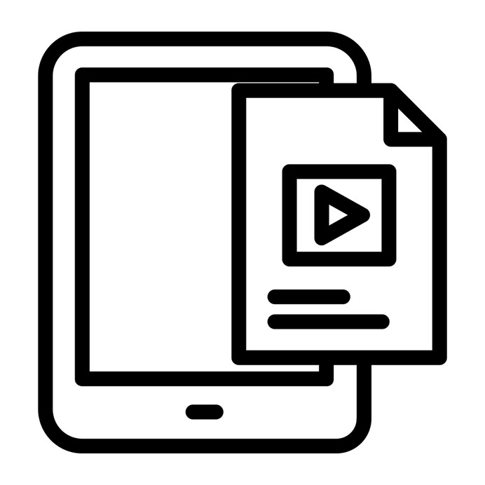 See more icon inspiration related to audio, ebook, music and multimedia, students pack, study, studies, notepad, electronics, education, voice, online, information, save, tablet, file and internet on Flaticon.