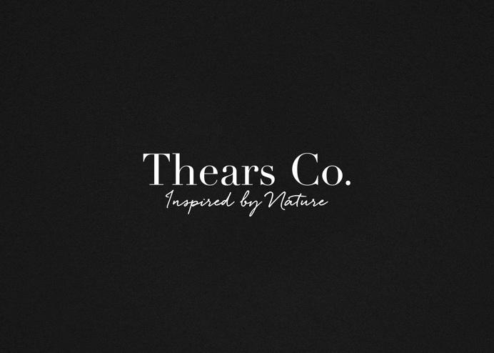 Thears Co. logo. #logotype #typography