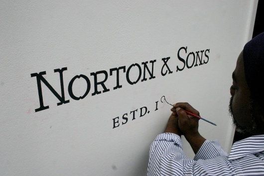 Norton & Sons | Moving Brands - a global branding company #design #graphic #branding