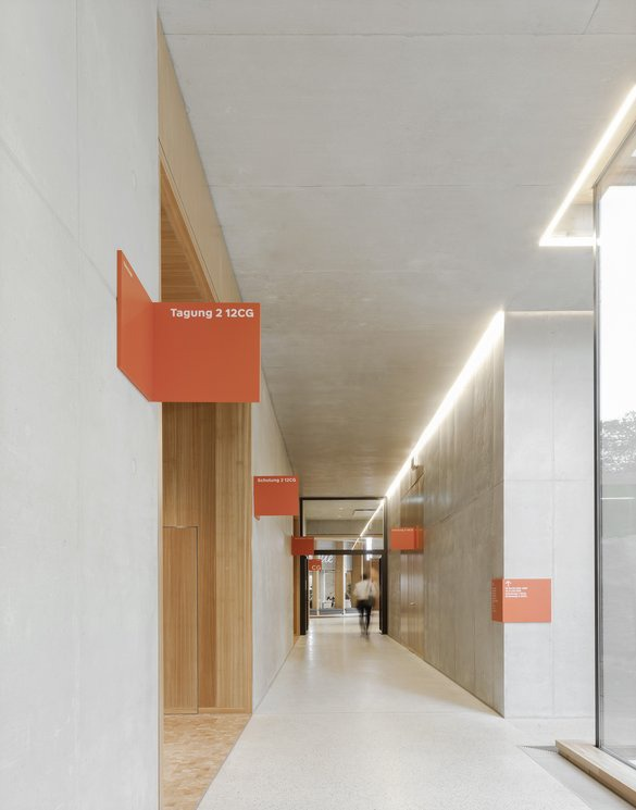 W & W Campus, Signage System Kornwestheim 2018