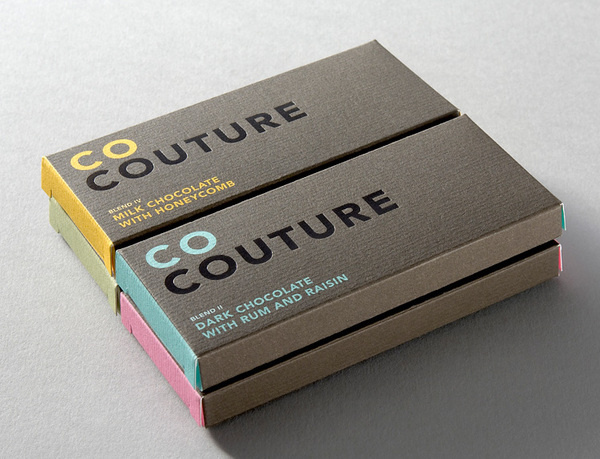 Co Couture Chocolate Packaging #co