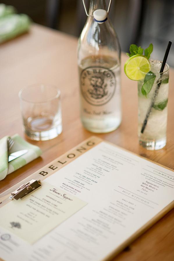 Cafe Belong #menu #design