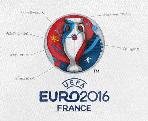 Euro 2016 logo #euro #2016