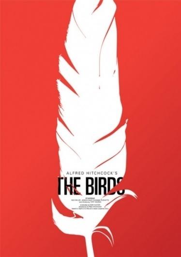 the-birds | simoncpage.com #design #graphic #iconic #poster #film