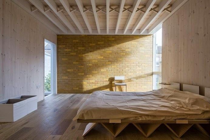 House of Trace by Tsuruta Architects #interiors #bedroom #minimal
