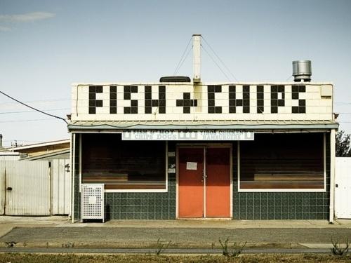Fish + Chips #sign #tile