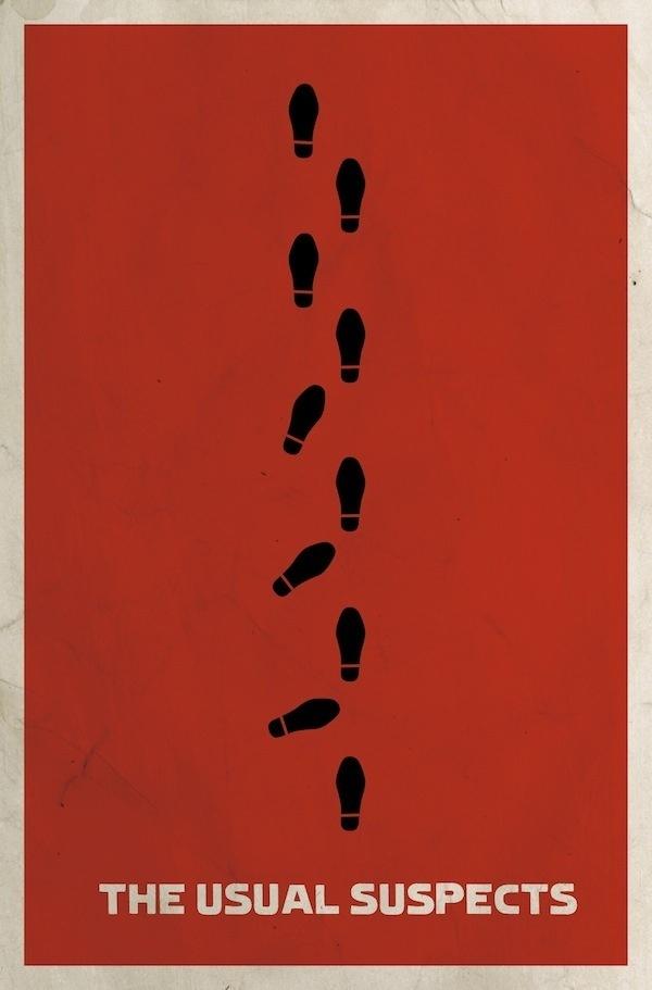 Minimalist Movie Posters | Matt Owen | feel desain #minimalistic #movies #design #graphic #posters #minimal #poster #minimalist