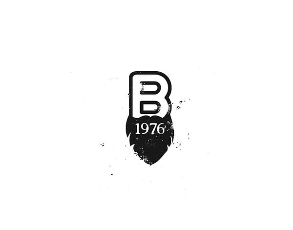 B.1976 #1976 #bbbttery #brand #logo #logotipo #barbas