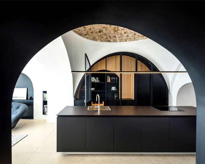 Modern Cave Dwelling in Old Jaffa District - InteriorZine