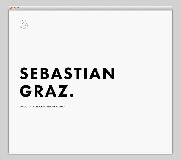 Sebastian Graz #website #layout #design #web