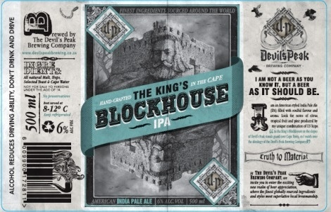 Devil's Peak Brewing Company #packaging #beer #label #bottle