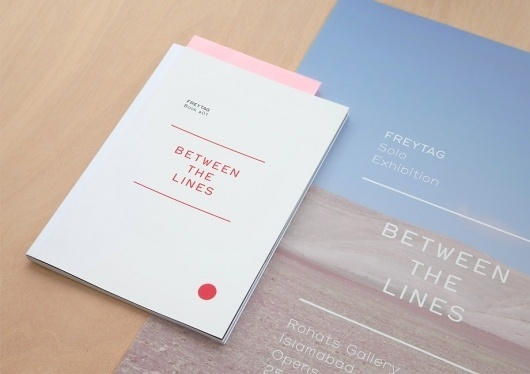 BERG Design for Print, Screen & the Environment #lines #freytag