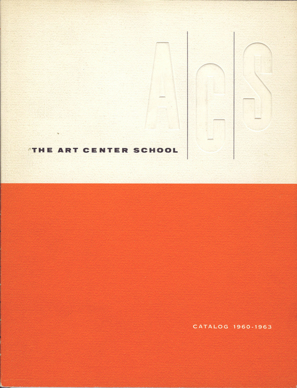 The Art Center School Catalog 1960-1963 #center #vintage #art #catalog