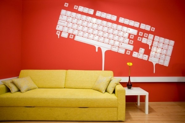 Interior Design for 3FS by ZEK Crew #draw #icons #the #it #wall #signage #to