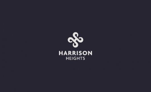 HarrisonHeights - Logos - Creattica #logo