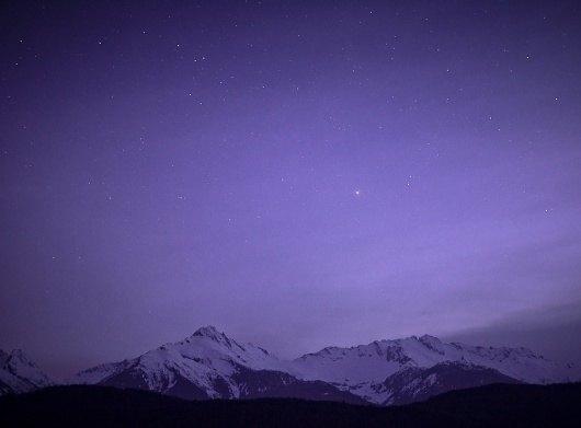 Circa 1983 - The Photo Roll of Owen Perry #stars #twilight #photography #mountains