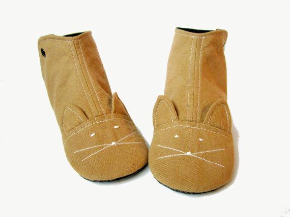 Zapatillas de mujer nuez moscada Cat House botas con suelas de cuero de imitación / / tamaños 6 10 #shoes #cat