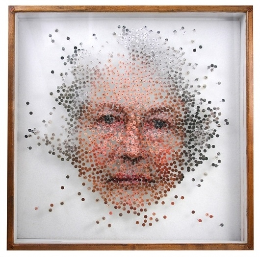Dissected Portraits Preserved in Specimen Boxes - My Modern Metropolis #specimen #box