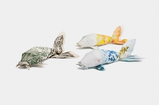 Payment Systems Group on the Behance Network #photograp #photography #origami #money
