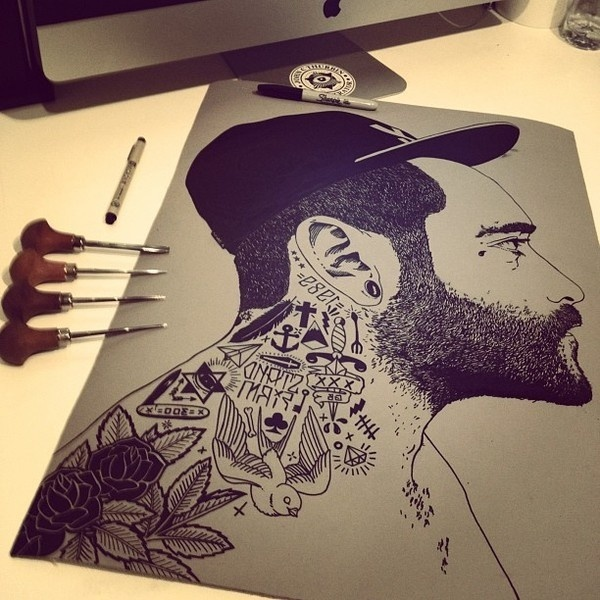 W.I.P 2012 on Behance #illustration #doodle #art
