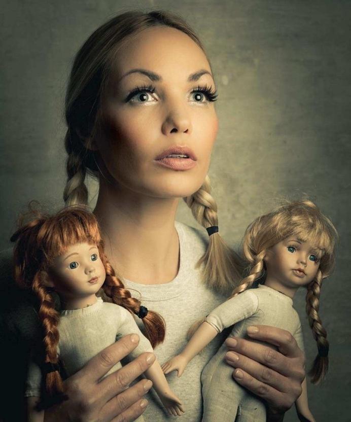 Gorgeous Fine Art Portraits by Lars V. Andersen