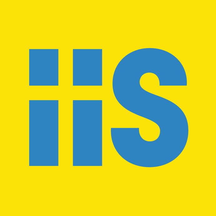 Internetstiftelsen i Sverige (The Internet Foundation in Sweden) #logo #Sweden #flag #type #yellow #blue
