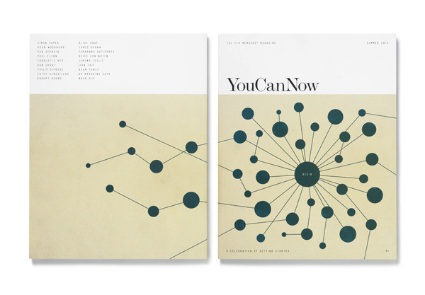 YouCanNow Magazine Matt Willey #print #cover #spread #layout #magazine