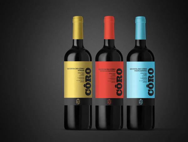 Concept: Quinta do Côro #packaging