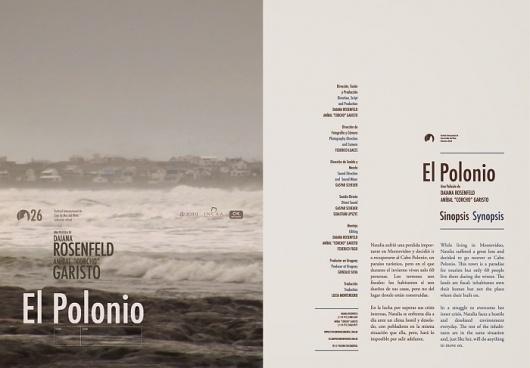El polonio, Cocumental by Diego Pinzon at Coroflot #text #movie #diego #pinzon #print #layout #editorial #synopsis