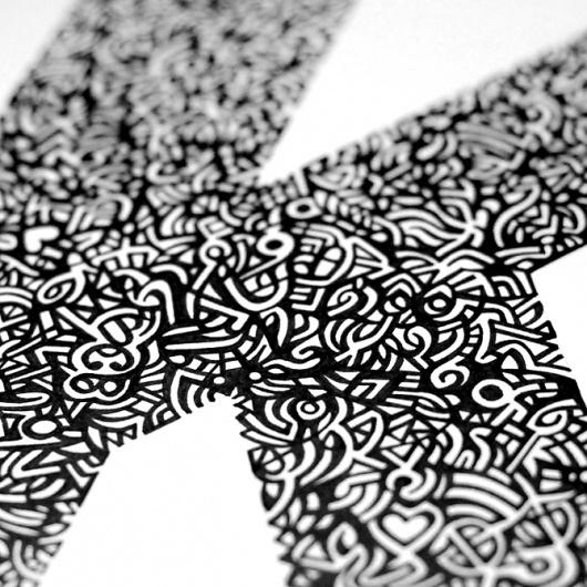 K.1 | Pen & Ink #des #graphic #illustration #modernism #typography