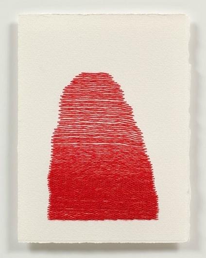 BOOOOOOOM! - CREATE * INSPIRE * COMMUNITY * ART * DESIGN * MUSIC * FILM * PHOTO * PROJECTS #art #contemporary #red #drawing #thread #post #m