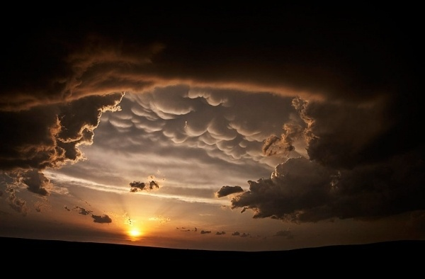 Lovely Sky Monsters - In Focus - The Atlantic #clouds #photography