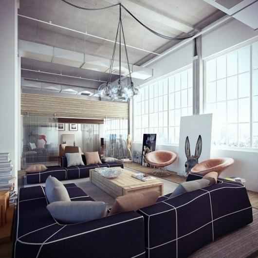 Industrial Loft #loft