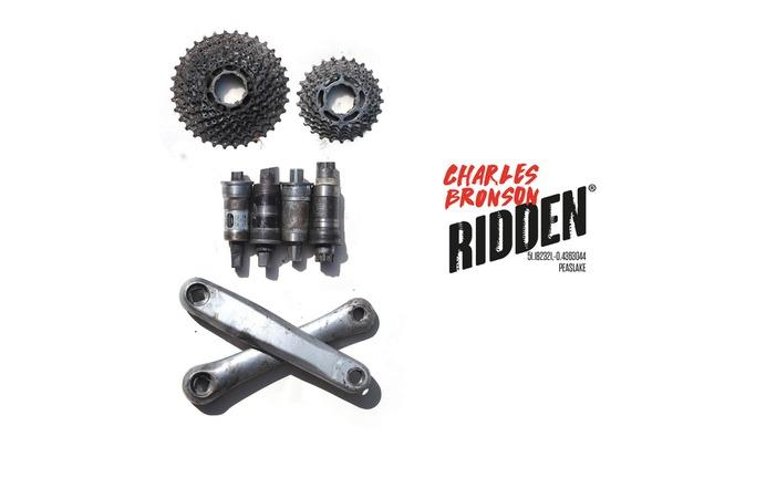 Ridden bike part poster design