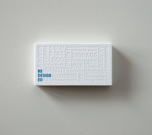 Lovely Stationery - Curating the very best of stationery design #business #debossed #card #letterpress #stationery