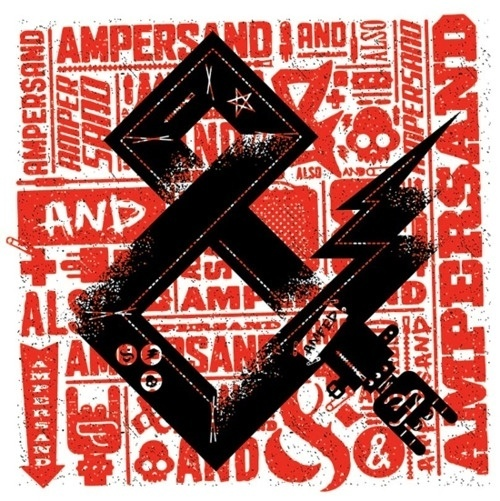 Tumblr #print #ampersand #rock #and #lightening