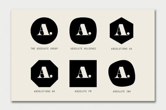 The Absolute Group identity - DRY UK Ltd #logo #identity #branding