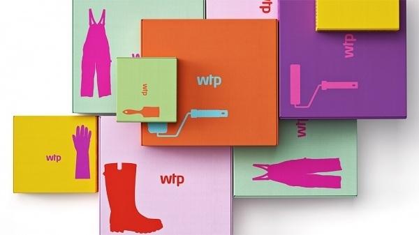 Reynolds and Reyner — Waldo Trommler Paints #packaging #colors