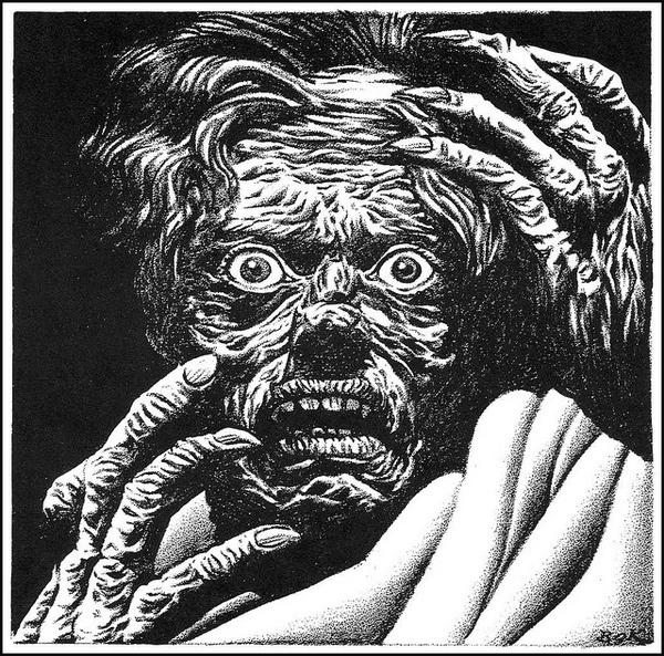 Hannes Bok 46 | Flickr Photo Sharing! #monster #illustration #ink #horror