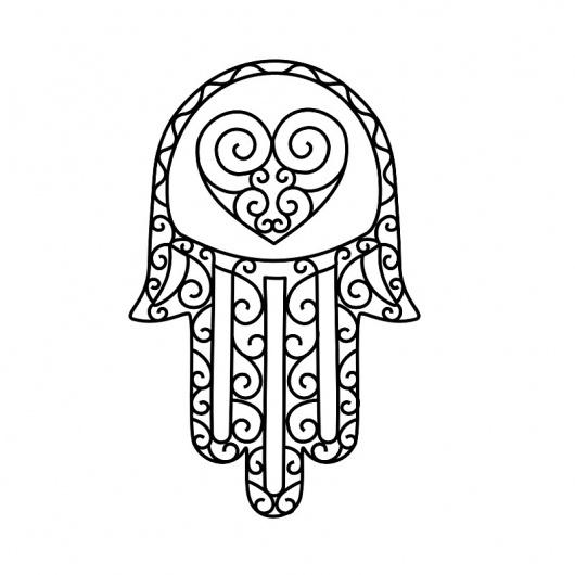 Hand-of-Fatima-tattoo.jpg (800×800) #curves #tattoo #symbol #hamsa #hand #love
