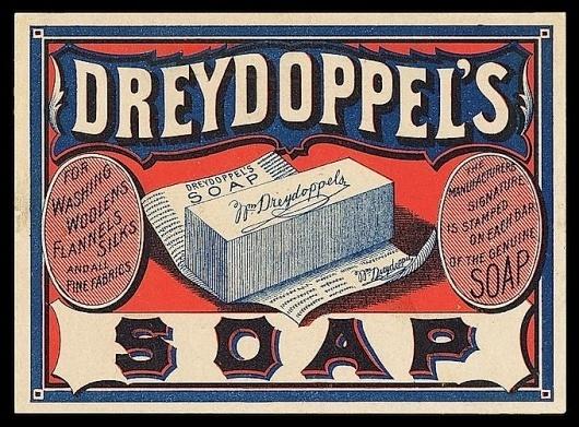 Chromoxylography   Sheaff : ephemera #dreydoppels #card #trade #soap #chromoxylography #woodblock