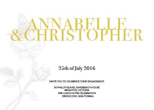 Botany Classic - Engagement Invitations #paperlust #engagement #engagementinvitation #invitation #engagementcards #engagementinspiration #w