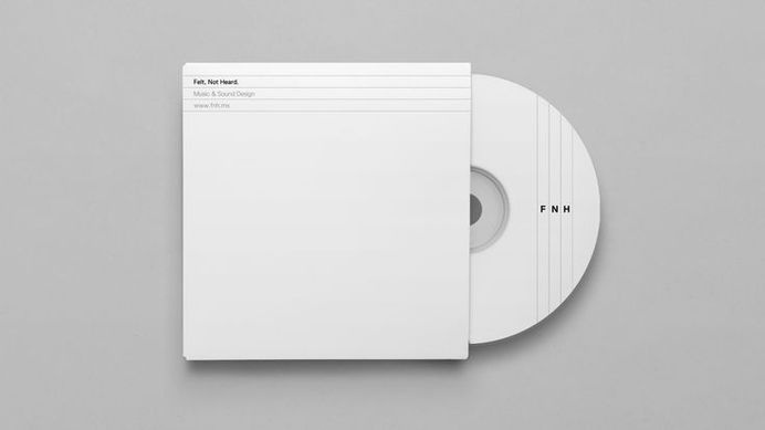 Felt, not heard — DIA #geometry #cover #identity #music #cd