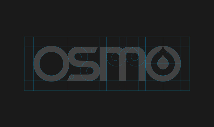 Osmo - Logotype structure